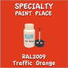 RAL 2009 Traffic Orange 2oz Bottle with Brush
