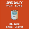 RAL 2009 Traffic Orange Quart Can