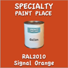 RAL 2010 Signal Orange Gallon Can