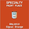 RAL 2010 Signal Orange Pint Can
