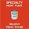 RAL 2010 Signal Orange Quart Can