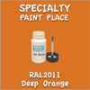 RAL 2011 Deep Orange 2oz Bottle with Brush