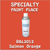 RAL 2012 Salmon Orange 16oz Aerosol Can