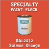 RAL 2012 Salmon Orange Gallon Can