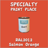 RAL 2012 Salmon Orange Quart Can