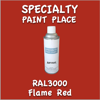 RAL 3000 Flame Red 16oz Aerosol Can