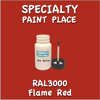 RAL 3000 Flame Red 2oz Bottle with Brush
