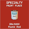 RAL 3000 Flame Red Gallon Can