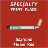 RAL 3000 Flame Red Pen