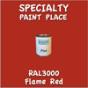 RAL 3000 Flame Red Pint Can
