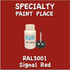 RAL 3001 Signal Red 2oz Bottle with Brush