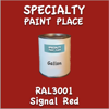 RAL 3001 Signal Red Gallon Can