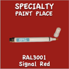 RAL 3001 Signal Red Pen