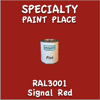RAL 3001 Signal Red Pint Can