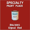 RAL 3001 Signal Red Quart Can