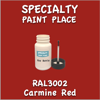 RAL 3002 Carmine Red 2oz Bottle with Brush