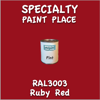 RAL 3003 Ruby Red Pint Can