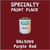 RAL 3004 Purple Red Quart Can
