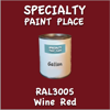 RAL 3005 Wine Red Gallon Can