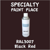 RAL 3007 Black Red 16oz Aerosol Can