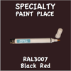 RAL 3007 Black Red Pen