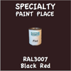 RAL 3007 Black Red Pint Can
