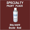 RAL 3009 Oxide Red 16oz Aerosol Can