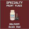 RAL 3009 Oxide Red 2oz Bottle with Brush