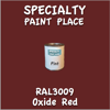 RAL 3009 Oxide Red Pint Can