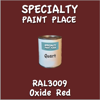 RAL 3009 Oxide Red Quart Can