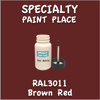 RAL 3011 Brown Red 2oz Bottle with Brush
