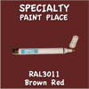 RAL 3011 Brown Red Pen
