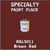 RAL 3011 Brown Red Pint Can