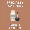 RAL 3012 Beige Red 2oz Bottle with Brush