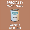 RAL 3012 Beige Red Gallon Can