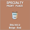 RAL 3012 Beige Red Pint Can