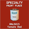 RAL 3013 Tomato Red Gallon Can