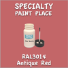 RAL 3014 Antique Red 2oz Bottle with Brush
