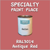RAL 3014 Antique Red Gallon Can