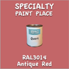 RAL 3014 Antique Red Quart Can