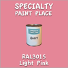 RAL 3015 Light Pink Quart Can