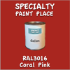 RAL 3016 Coral Pink Gallon Can