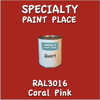 RAL 3016 Coral Pink Quart Can