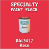 RAL 3017 Rose Quart Can