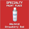 RAL 3018 Strawberry Red 16oz Aerosol Can