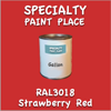 RAL 3018 Strawberry Red Gallon Can