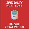 RAL 3018 Strawberry Red Quart Can