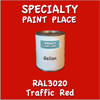 RAL 3020 Traffic Red Gallon Can