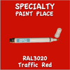 RAL 3020 Traffic Red Pen