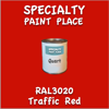 RAL 3020 Traffic Red Quart Can